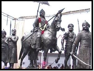 maharana_pratap-statue-at-delhi